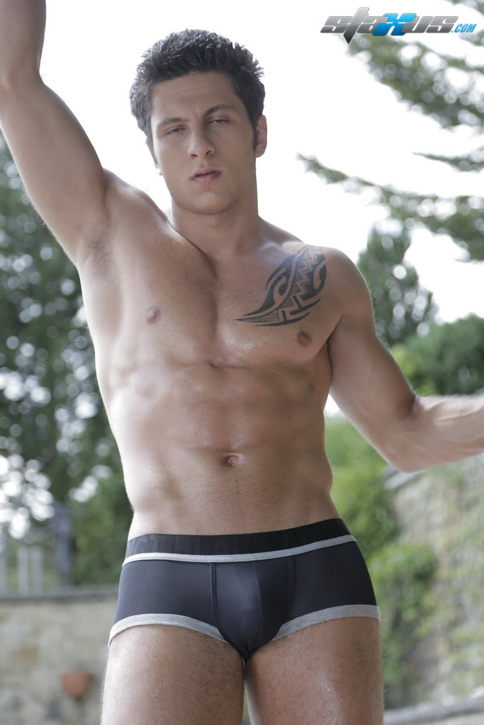 hunk naked handsome
