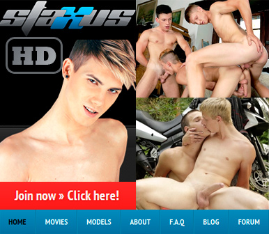 Bareback, Uncut Cocks and Sexy Twinks at Staxus!