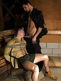 "This week on ""The Storm"" hot jock Connor Kline is still being held hostage and hunk Kellan Parker"