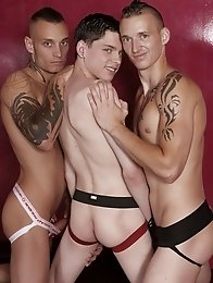 Dirty Fuckers: Young Twink Gets Abused To The Max In A Double-Penetration Sex-Club Fuck-Fest!